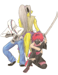 Daisho Con Mascots by StaticKling31