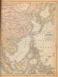 Peerless Atlas of the World - China and Asia by RKlingbeil