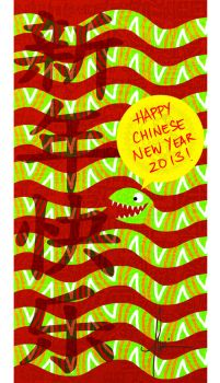Happy Chinese New Year 2013. by blingzai