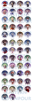 Fire Emblem Awakening Buttons by khiro