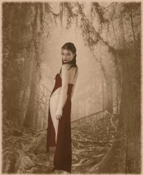Witch of the woods by Melindrea82