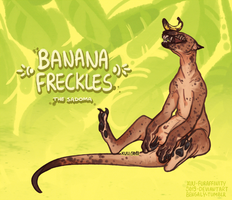 [ADOPT] Banana Freckles Sadoma - CLOSED by 5019