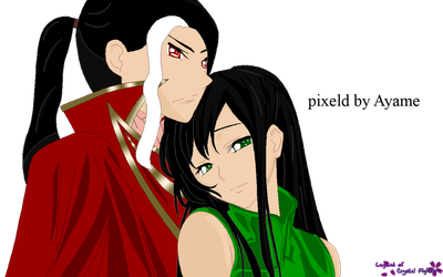 Ayame and Livan 2 by CrystalNight87
