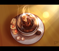 A Side of Paca for your Coffee? by starridge