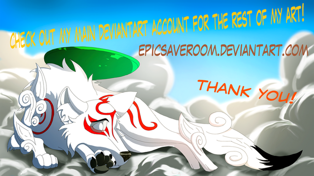 Okami - Check out my main deviantart!  link below by canineart2018