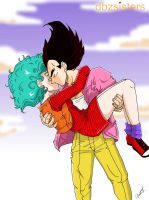 First Kiss by dbzsisters