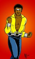 Luke Cage Power Man colored by pjperez