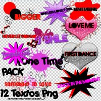 Pack Textos Png by experiencebieber