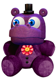 Mr. Hippo plush by crazycreeper529