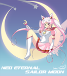 neo eternal sailor moon by yume