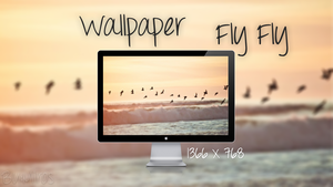 Wallpaper Fly Fly by craftingandmore
