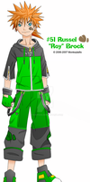 Roy Brock: Earth Clone by Monkeytaillo