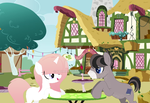 Catch up at the Cafe by Kaiimira