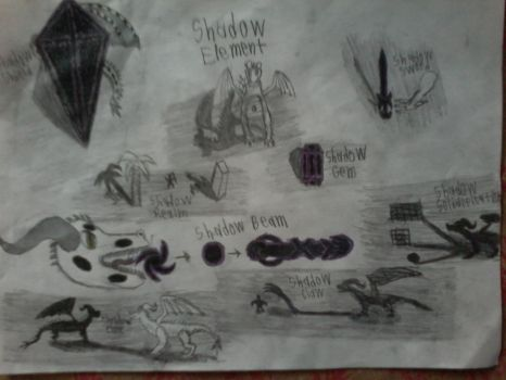 Shadow Element Doodles by LordVerdauga