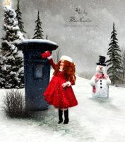 Santa's Letter by TinaLouiseUk