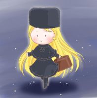 Maetel in the Galaxy Express 999 by semihiro51