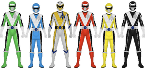 Requested: Power Rangers Astro Blast by Taiko554