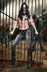 The Walking Dead by FrozenStarRo