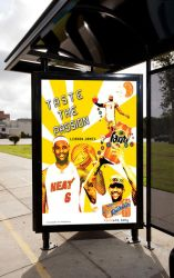 Bus Stop Ad by Whatsome
