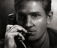 John Reese-speedpaint uploaded- by ForeverRunningFree