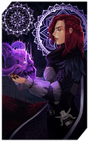 Commission: Fawn Holmwood tarot by RedlyJester
