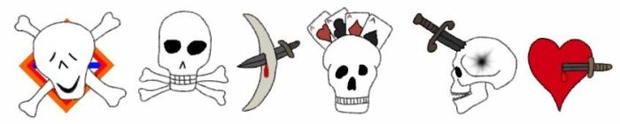 Major Ebrian pirate gang insignias by PieGeo190