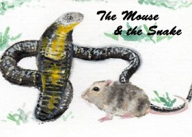 The Mouse and the Snake by kay85905921
