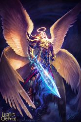 Angel LOTC by Deligaris