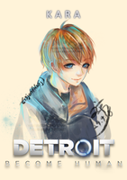 Detroit become human : KARA by eisjon