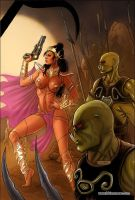 Dejah Thoris 34 Cover Colors by FabianoNeves