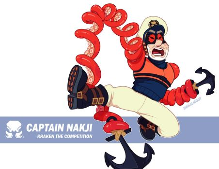 ARMS - Captain Nakji by MrHaliboot
