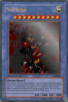 Natasha yugioh god card by Tarjai