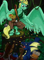 The Fortress - Heroes of Might and Magic (MLP) by Witkacy1994