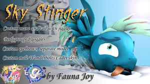 Sky Stinger (Model DL) by Fauna-Joy