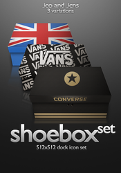 Shoebox Assorted Set by PsychOut