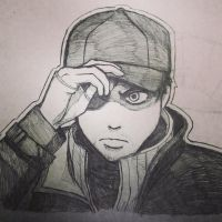 Aiden Pearce by funkychihuahua