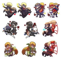 Persona 5 Charms! by TheKiwiSlayer