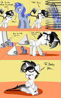 Stop Liking This - Comic - Commission by Lightning-Bliss
