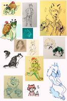 sketchdump11 by cayotze
