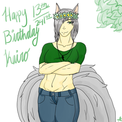 Happy Birthday Kairo by KairoWeasley1418