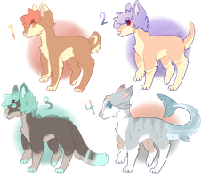 dog adopts 3/4 [open] by vaylri