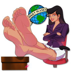 Ladies of Saturday Morning - Lois Lane (S:TAS) by scamwich