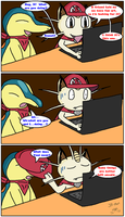 PMD Comic -- Yaoi? by The-Great-B-Man