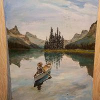 Lost in nature /painting on canvas by daxgraffiti