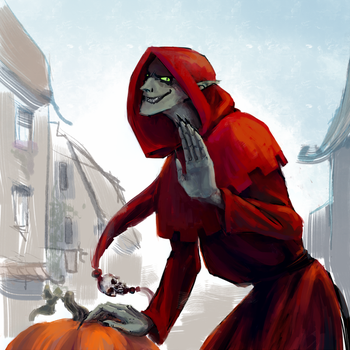 these aren't the pumpkins you're looking for by Wuetend-Tee