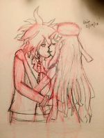 (Sketch) Be My Accomplice to My Crime {Komamiki} by RenegadeQuartz