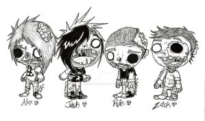 All Time Low Zombies by xXxSkullsxXx