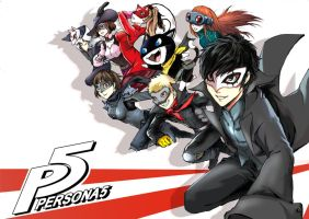 Persona 5 by JKLiew92