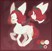Rose Apple Pony Auction (OPEN) by Dusty-Onyx