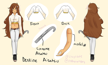 Denkine Aisatsu Official Reference by GraySlate